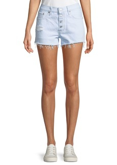 Levi's 501 Better Love Denim Shorts w/ Cutoff Hem
