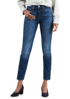 Levi's Premium 501 Mid-Rise Ankle Skinny Jeans