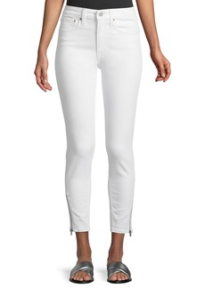 Levi's Premium 721 Altered High-Rise Side-Zip Skinny Jeans