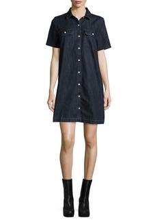 Levi's Premium Delfina Cotton Shirt Dress