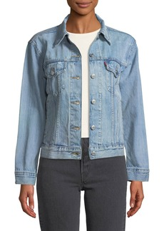 Levi's Ex-Boyfriend Dream Of Life Denim Trucker Jacket