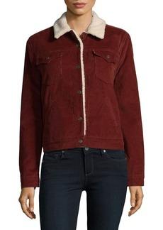 Levi's Premium Sherpa-Trimmed Jacket