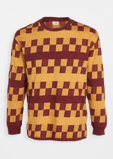 Levi's Red Tab 1980s Long Sleeve Checker Sweatshirt