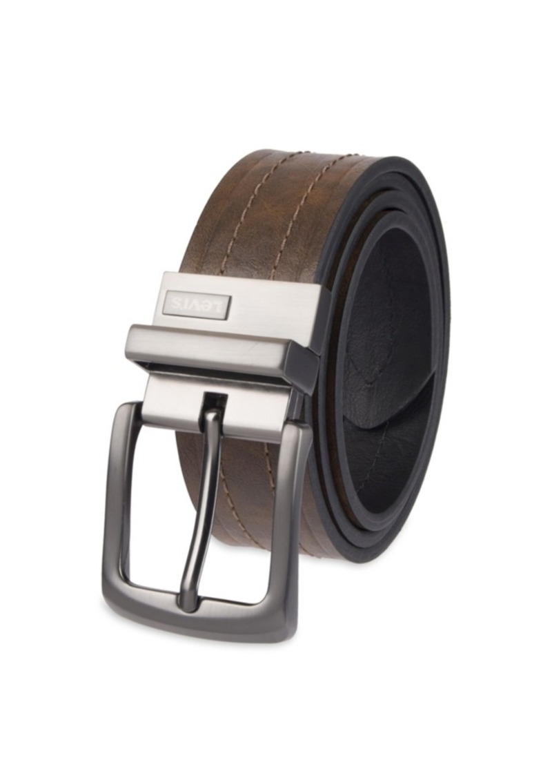 Levi's Reversible Casual Men's Belt with Embossed Strap