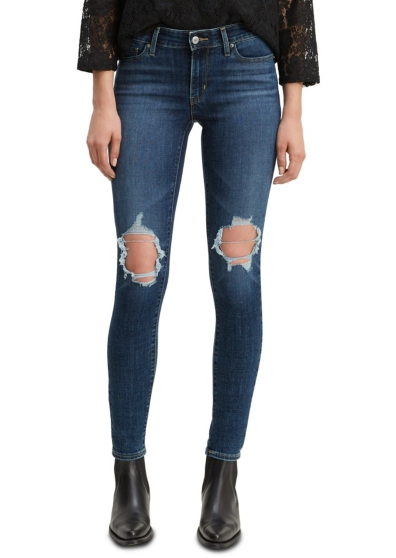 Levi's Women's 711 Ripped Skinny Jeans