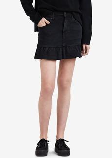 Levi's Ruffle-Hem Denim Skirt