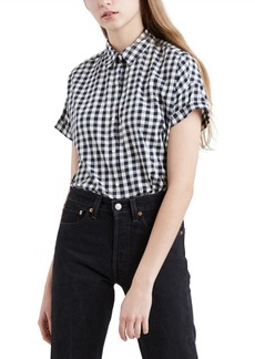 Levi's Women's Sadie Cotton Button-Back Shirt