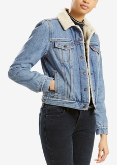 Levi's Sherpa-Collar Denim Jacket