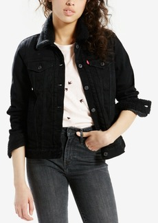 Levi's Sherpa-Collar Denim Jacket