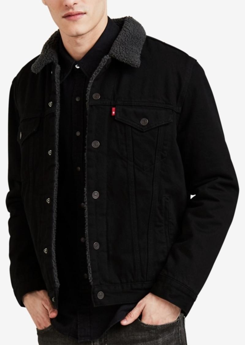 Levi's Men's Sherpa Denim Trucker Jacket