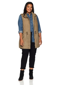 Levi's Size Women's Plus Festival Lightweight Cotton Vest