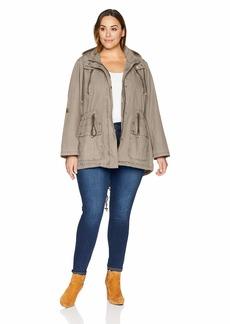 Levi's Size Women's Plus Parachute Cotton Utility Jacket  2X