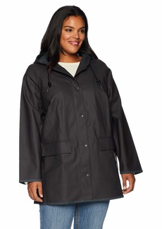 Levi's Size Women's Plus Rubberized Rain Jacket