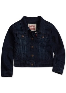 Levi's Toddler Girls Snap Button-Front Denim Jacket