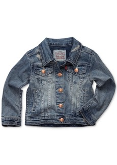 Levi's Toddler Girls Snap Button-Front Denim Jacket