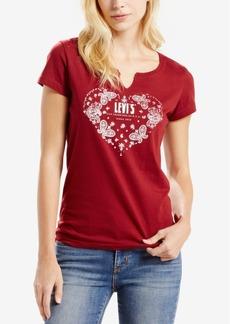 Levi's Split-Neck Graphic T-Shirt