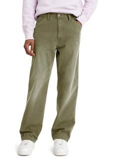 Levi's® Stay Loose Carpenter Pants (Olive Herringbone)