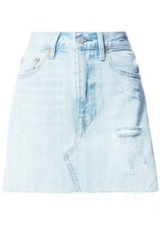 Levi's straight denim skirt - Blue