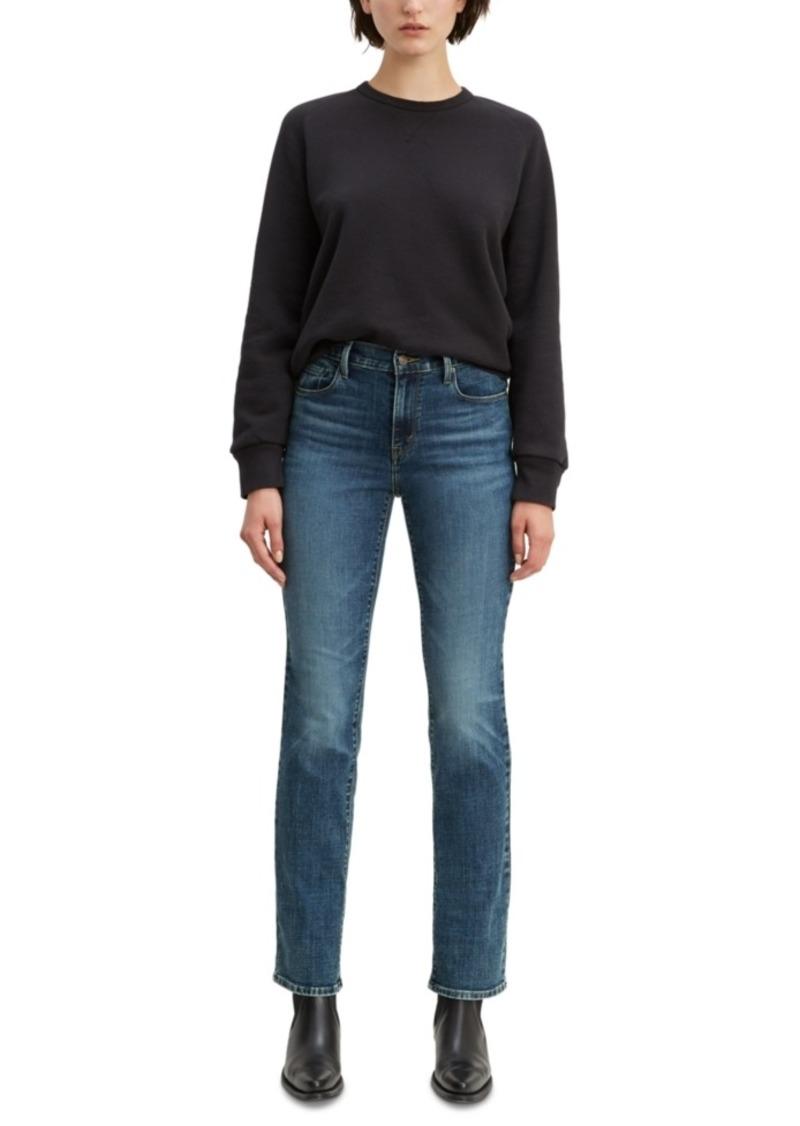 Levi's Women's Straight-Leg Mid-Rise Jeans