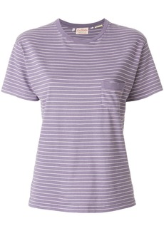 Levi's striped fitted T-shirt - Pink & Purple