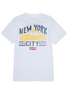 Levi's Little Boys Nyc Cab Graphic T-Shirt