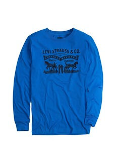 Levi's Toddler Boys' Long Sleeve Graphic T-Shirt