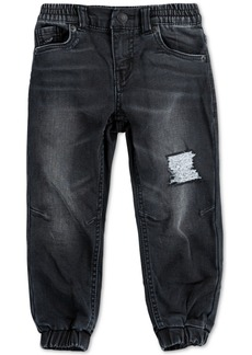 Levi's Toddler Boys Slim Tapered-Fit Stretch Distressed Dobby Joggers