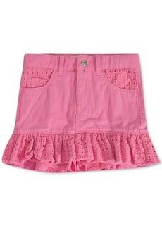 Levi's Toddler Girls Eyelet-Trim Denim Scooter Skirt