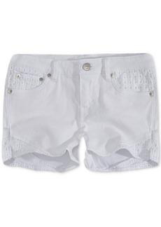 Levi's Toddler Girls Floral Embroidered Denim Shorts
