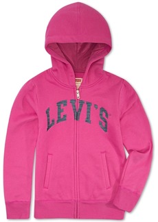 Levi's Little Girls Full-Zip Logo Hoodie