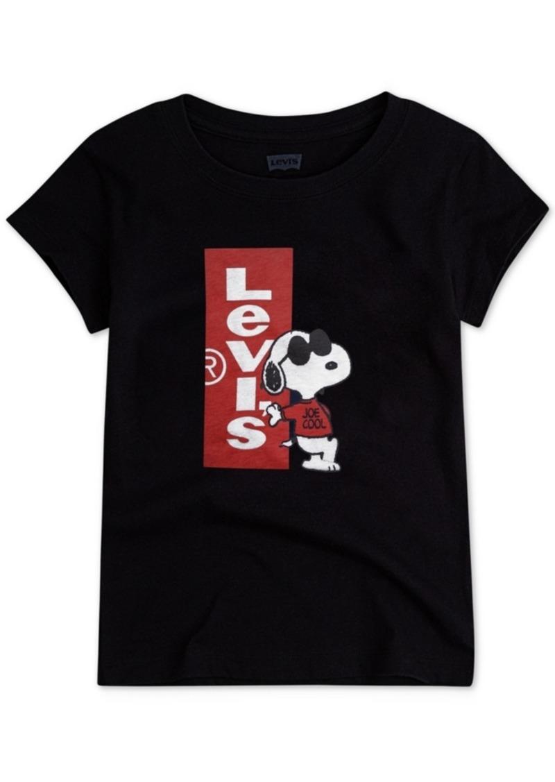 69c58363882e6c SALE! Levi's Levi's Toddler Girls Joe Cool Snoopy Cotton T-Shirt