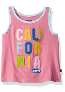 Levi's Toddler Girls' Graphic a-Line Tank Top