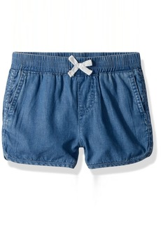 Levi's Toddler Girls' Lightweight Shorty Shorts