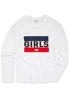 Levi's Little Girls Long-Sleeve Cotton T-Shirt