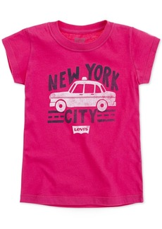 Levi's Toddler Girls New York City Cotton T-Shirt