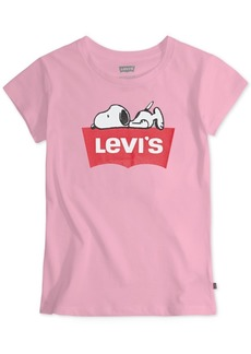 Levi's Toddler Girls Sleepy Snoopy T-Shirt