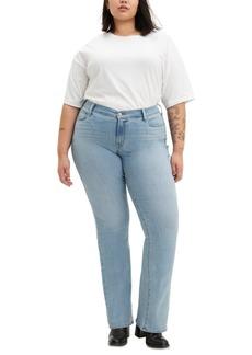 Levi's Trendy Plus Size 415 Classic Bootcut Jeans