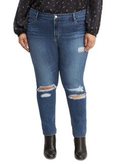 Levi's Trendy Plus Size 721 High-Rise Skinny Jeans