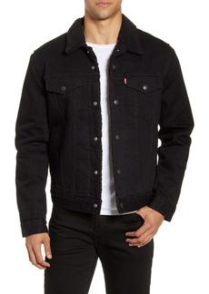 Levi's® Type III Faux Shearling Lined Denim Trucker Jacket