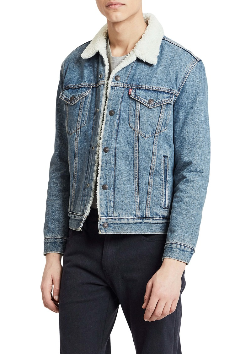 Levi's® Type III Faux Shearling Lined Denim Trucker Jacket
