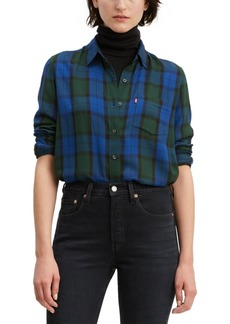 Levi's Women's Ultimate Boyfriend Plaid Shirt