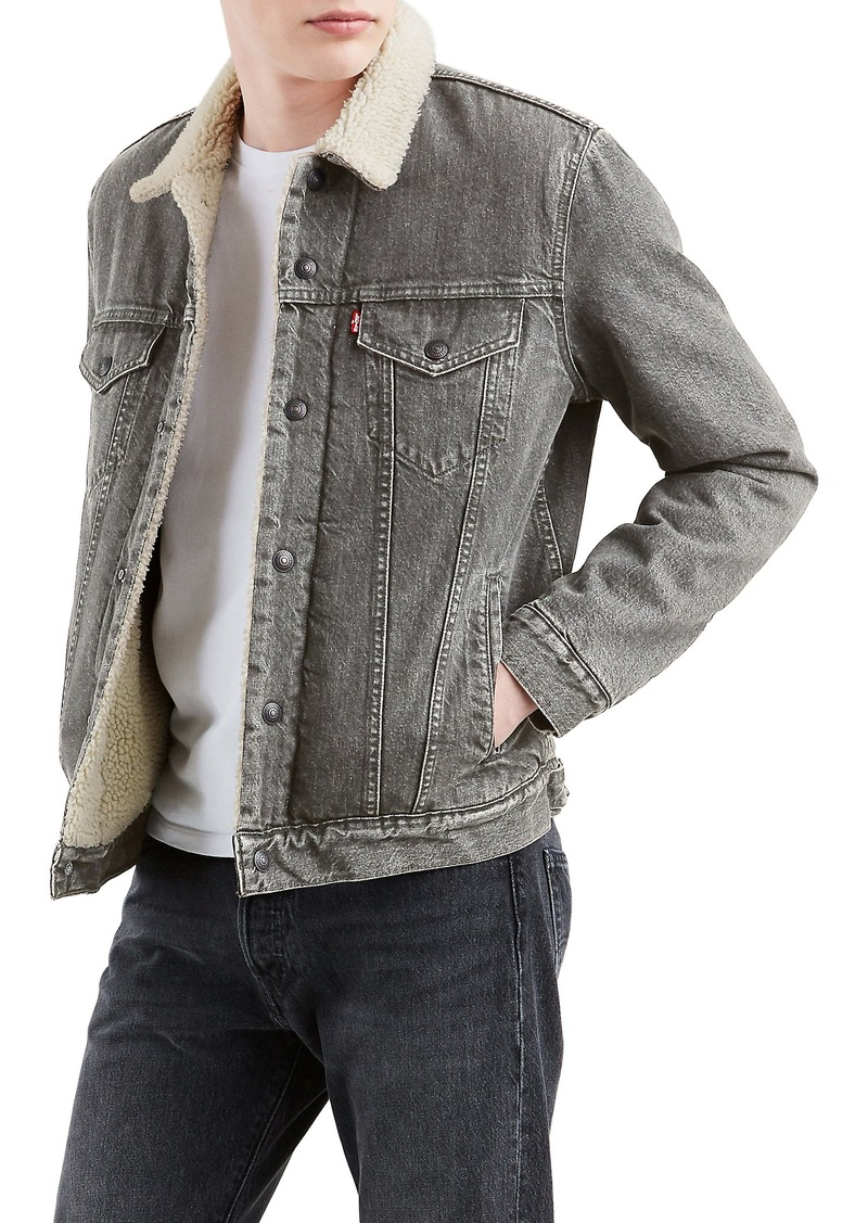 Levi's® Vintage Fit Faux Shearling Lined Denim Trucker Jacket