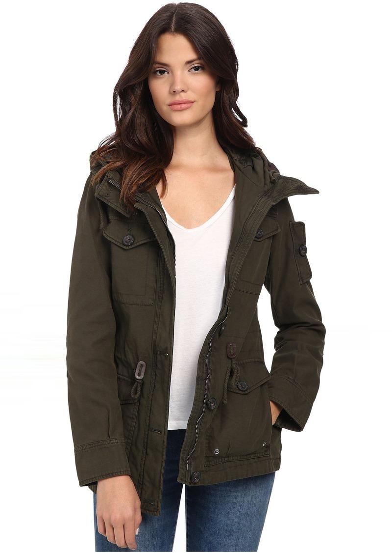 Levi's® Washed Cotton Fashion Four-Pocket Military w/ Hood