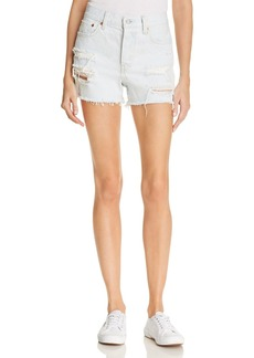 Levi's Wedgie Denim Shorts in Thin Ice - 100% Exclusive