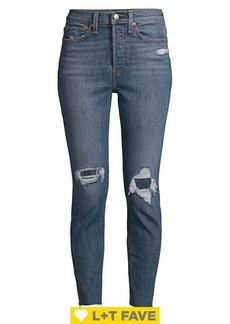 Levi's Wedgie High-Rise Skinny Jeans