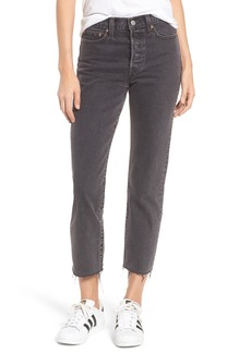 Levi's® Wedgie High Waist Ankle Straight Leg Jeans (That Girl)