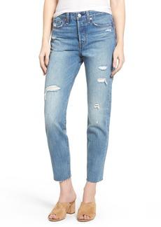 Levi's® Wedgie High Waist Crop Jeans (Partner in Crime)