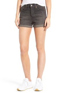 Levi's® Wedgie High Waist Denim Shorts (Beat Remix)