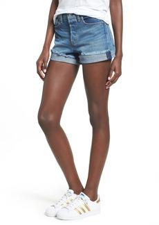 Levi's® Wedgie High Waist Denim Shorts (Blue Cheer)