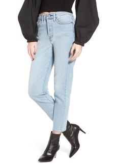 Levi's® Wedgie Icon Fit High Waist Crop Jeans (Bauhaus Blues)